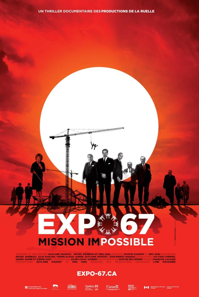 Affiche officielle de Expo 67 Mission Impossible
