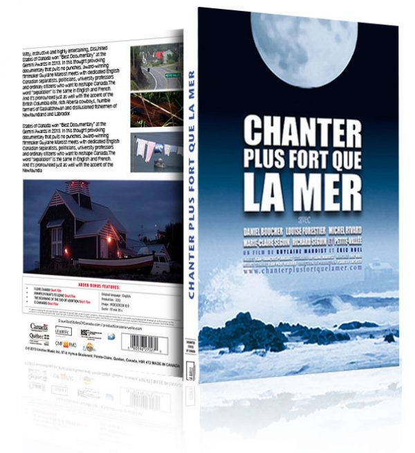 Chanter plus fort que la mer en DVD / Singing to Drown Out the Sea on DVD