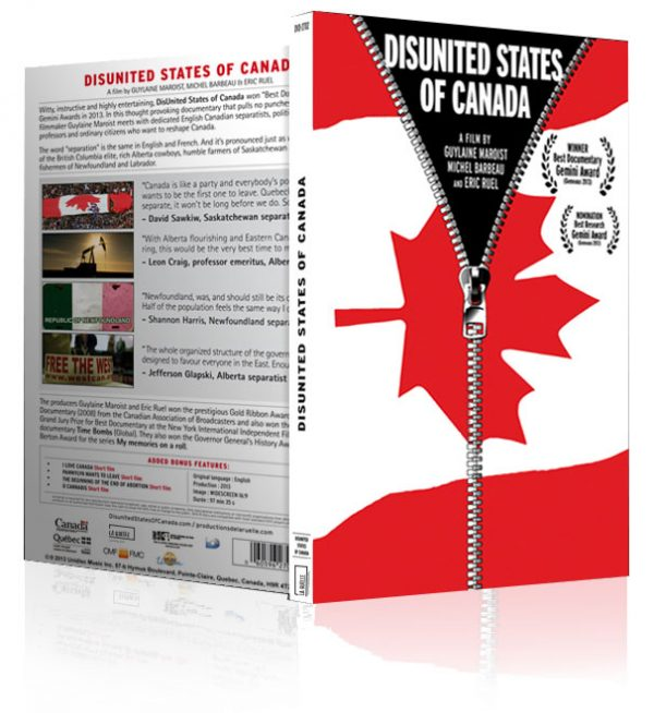 Disunited States of Canada on DVD