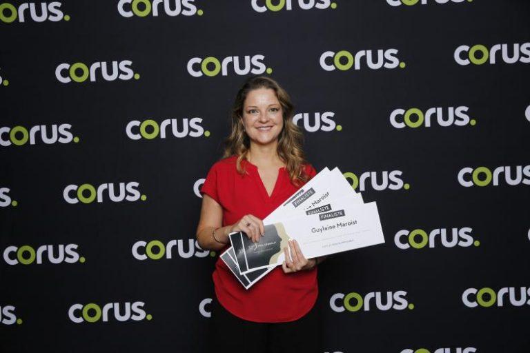 Guylaine Maroist reçoit les nominations des prix Gémeaux 2018