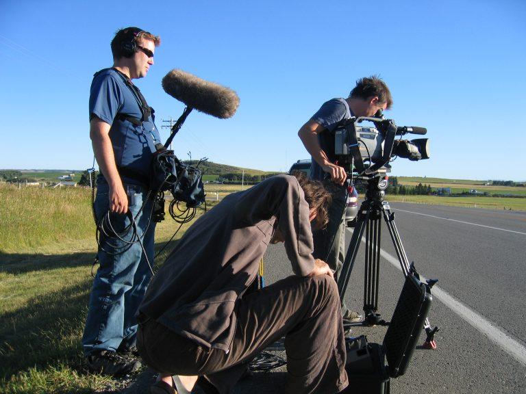Équipe de tournage de La Ruelle films