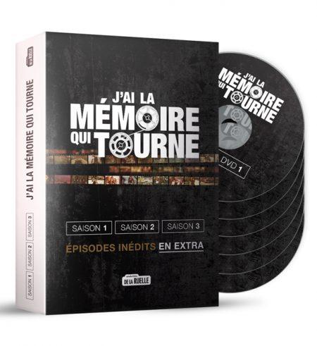 J'ai la mémoire qui tourne - Coffret DVD