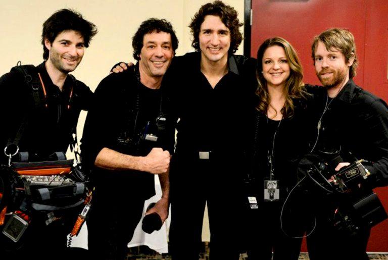 Équipe de tournage de God Save Justin Trudeau