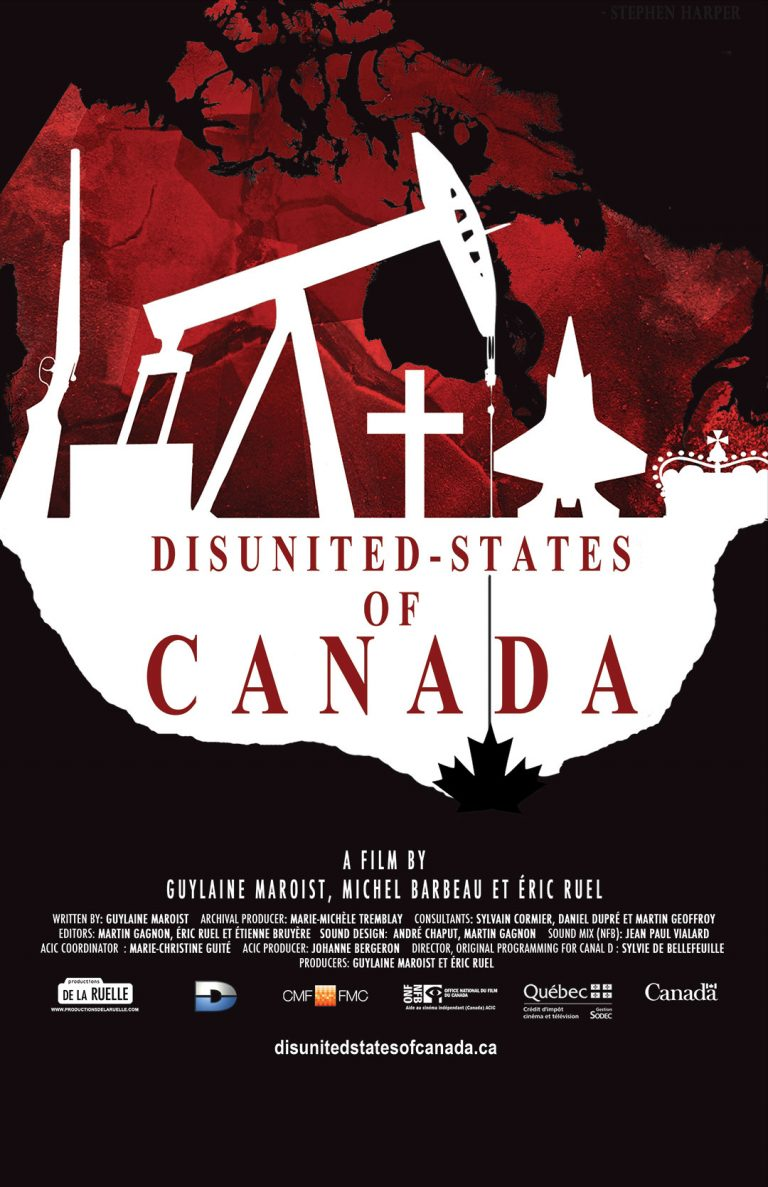 Disunited-States of Canada Poster