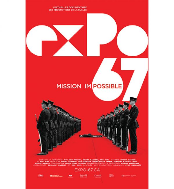 Expo-67 Mission Impossible affiche