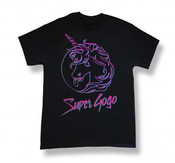 T-Shirt Super Gogo Licorne - Jukebox le film